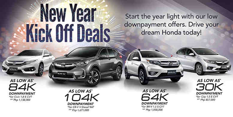 News And Updates January 10 2018 New Year Kick Off Deals Start The Light With Our Low Dowpayment Offers Drive Your Dream Honda Today